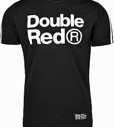 triko DOUBLE RED TRADEMARK B&W Edition Black