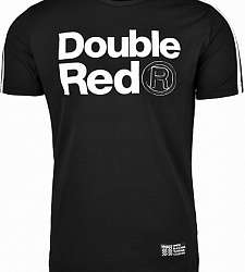 triko DOUBLE RED TRADEMARK B&W Edition Dark Grey