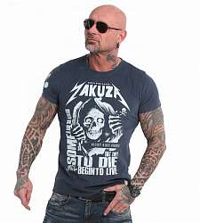 triko Yakuza Afraid To Die TSB 18054 Midnight Navy
