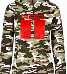 dámská mikina DOUBLE RED DR W Sweatshirt All Logo Green Camo