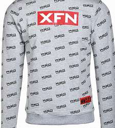 mikina DOUBLE RED XFN Fighters Club/DOUBLE RED Full Logo Grey