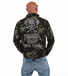 bunda Yakuza SKULL N WINGS FELDJACKET JB 14022