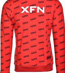 mikina DOUBLE RED XFN Fighters Club/DOUBLE RED Full Logo Red